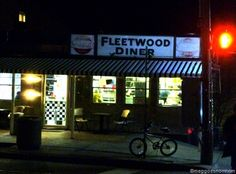 It's where you go after a late night out!  Fleetwood Diner, Ann Arbor