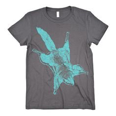 MENS / WOMENS Vintage Flying Squirrel TShirt by CritterJitters on Etsy