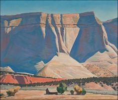 Sculptured Sandstone, by Maynard Dixon. 1944 http://www.askart.com/AskART/assets/member/456/4562/9884_34298_1_LG.jpg