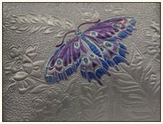Longarm quilting | longarm quilting inspiration / butterfly