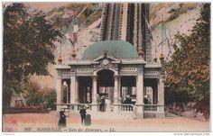 Marseille, Notre Dame De La Garde Ses Ascenseurs De 1892, Gare Inférieure - Notre-Dame De La Garde, Ascenseur