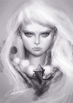 ☆ Little Girl :¦: By Artist Gerry Arthur ☆
