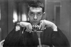Stanley Kubrick self-portrait, age 22 (1949), Leica III camera