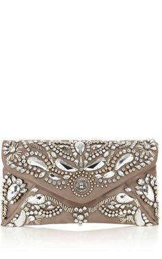 4209a7d5458 Karen Millen Baroque jewel clutch Silver | eBay UK | eBay.co.uk Mk
