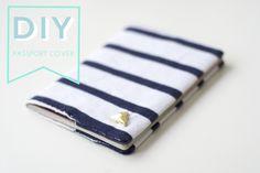 {DIY} easy peasy passport cover