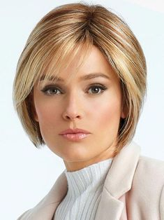 Lace Front Cap Women Synthetic Hair Natural Straight Wigs - October 27 2019 at Cute Bob Haircuts, Choppy Bob Hairstyles, Bob Hairstyles For Fine Hair, Haircuts With Bangs, Raquel Welch Wigs, Natural Hair Styles, Short Hair Styles, Line Bob Haircut, Monofilament Wigs