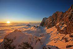 Dachstein glacier - Dachstein Gletscher. photographer: Herbert Raffalt Ski Wm, Lava, Heart Of Europe, Wonderful Places, Winter Wonderland, Austria, Mount Everest, My House, To Go