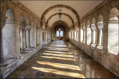 Under the terraces of the Fisherman's Bastion by Romeodesign