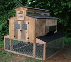 diy chicken coop from pallets | free chicken coop plans http www backyardchickens com atype 2 coops ...