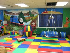 Imagine your child's playroom with bright and colorful mats made of super-soft materials. These mats helps protect children and floors while providing a fun sanitary area to play
