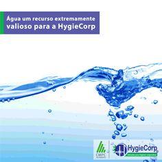 Água um recurso extremamente valioso para a HygieCorp  A HygieCorp possui exclusividade da Melhoramentos nas regiões que atua. E a parceria com a Melhoramentos não foi somente pela alta qualidade de seus produtos, mas também pelo seu comprometimento com questões ligadas ao meio ambiente.