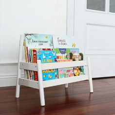 Unique Bookshelves for Kids . Unique Bookshelves for Kids . Readers Favorite Pretty In Pastels Playroom Kids Room Bookshelves, Wall Mounted Bookshelves, Nursery Bookshelf, Nursery Storage, Bedroom Storage, Creative Bookshelves, White Bookshelves, Bookshelf Ideas, Shelving Ideas
