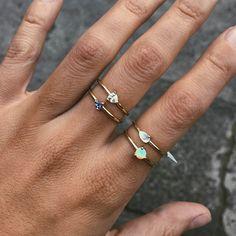 Cor Luna Ring - White Topaz
