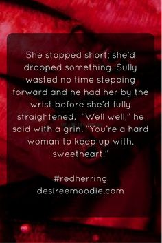 #fictionfriday #redherring #amwriting