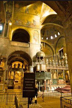 Saint Mark's Interior, Venezia