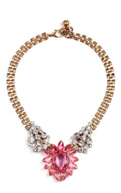 50 Year Necklace Featuring Vintage Parts From 1860-1960 by Lulu Frost for Preorder on Moda Operandi