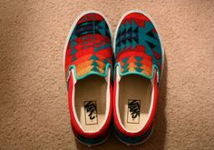 VANS X PENDLETON (I WANT) How did I miss these???