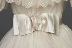 Fashions From The Past — historicaldress: Wedding Dress, 1895 White...