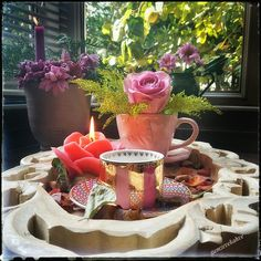 Tea Time, Southern, Table Decorations, Dinner, Coffee, Breakfast, Home Decor, Buen Dia, Dining
