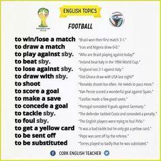 Forum | ________ English Grammar | Fluent LandPhrasal Verbs with FOOTBALL | Fluent Land