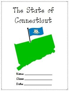 Connecticut- A research project is a 16 pages study on Connecticut. Use it as a class test or research project.Download Preview File - Please view The Connecticut preview file prior to purchasing as the preview is all the resources in this pack. Please ensure that the resource is appropriate for your grade level prior to purchasing.What included:20 fill in the blank questions14 short essay questions 1 label the counties map 1 label the Cities map1 label the town mapName the landmark1…