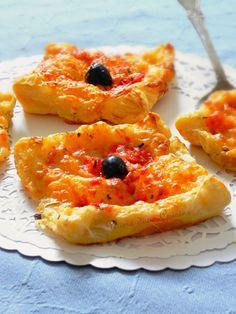feuilletés tomate-mozzarella