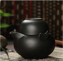 2 pcs, 1 bule 1 xícara de chá, Yingxing argila roxa conjunto de chá, Bule de chá de / chaleira kung fu xícara de chá de viagem, Roxo argila gaiwan(China (Mainland))