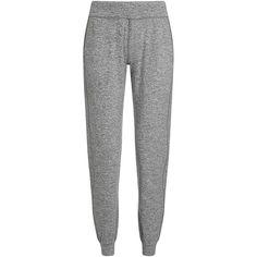 Sweaty Betty Ahimsa Yoga Pants found on Polyvore featuring activewear, activewear pants, pants, bottoms, sweatpants, trousers, pantalones, stonemarl, sweaty betty and lightweight sweatpants