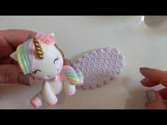 DIY - Unicórnio Kawaii em Biscuit *--* - YouTube