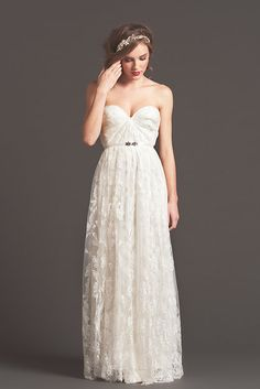 Bc one day I will meet the man of the dreams and I will want to wear a weddin dress.