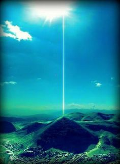 The Bosnian Pyramid of the Sun continues unfolding more mysterious functions and activities.    A team of physicists has detected an energy beam that protrudes through the top of the pyramid and shoots upwards. The radius of the circular beam is 4.5 meters and its frequency is 28kHz.    The beam is continuous in its direction, up, and its intensity increases as it gains height, ie, moving away from the pyramid. The phenomenon contradicts the known laws of physics and technology.