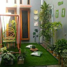 Small garden patio ideas apartments 58 Ideas for 2019 Backyard Patio, Backyard Landscaping, Small Outdoor Patios, Garden Design, House Design, Apartment Balcony Decorating, Interior Garden, Home Design Plans, Balcony Garden