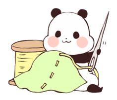 Find images and videos about cute, kawaii and transparent on We Heart It - the app to get lost in what you love. Panda Love, Cute Panda, Panda Bear, Cartoon Drawings, Easy Drawings, Cartoon Art, Panda Lindo, Panda Illustration, Baby Hamster