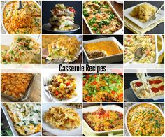 Casserole Recipes - The Idea Room