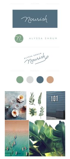 love the colours & the design of Nourish site. Lauren Ledbetter Design & Styling — Branding Nourish