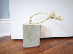 diy concrete door stop, concrete masonry, diy, doors, how to