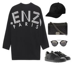 """""""Untitled #46"""" by gr20gk on Polyvore featuring Kenzo, Valentino, Christian Dior and Chanel"""