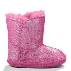 UGG-Infant-Girls-Cassie-Glitter-Boot-Fuchsia-23-Months-0