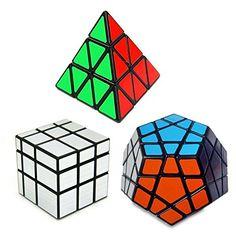 ShengShou Set of 3 Speed Cube Pyraminx, Megaminx, Silver Mirror Magic Puzzle Huixinda http://www.amazon.com/dp/B012QM3S9Y/ref=cm_sw_r_pi_dp_zJwdwb06GDNAN