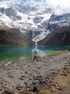 Glacier Lake in Peru by andreaarden, via Flickr