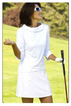 This is how I want to look when I golf.