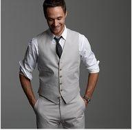 Grey waistcoat & 3 quarter trousers