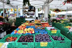 photo, image, oslo, norway, market