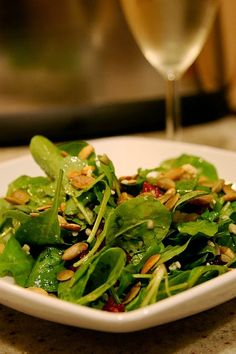 Susannah's Kitchen: Recipe | 12 Healthy Spinach Salads