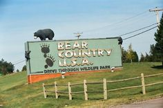 Bear Country USA South Dakota. Loved it!!! Literally bears everywhere! Black bears, brown bears and baby bears.