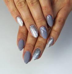 #silver #grey #semilac #shine
