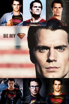 Oh Henry, be my Superman!♥