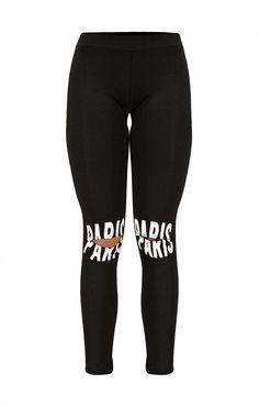 Γυναικείο κολάν με στάμπα paris Black Jeans, Sweatpants, Skinny Jeans, Fashion, Moda, Fashion Styles, Black Denim Jeans, Fashion Illustrations