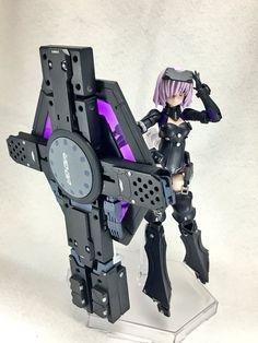 Dummy Doll, Cyborg Girl, Frame Arms Girl, Tech Art, Robot Girl, Modelos 3d, Anime Figurines, Fantasy Armor, Cool Toys