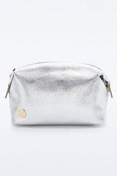 Mi-Pac Cosmetics Bag in Silver #bag #women #covetme #mipac